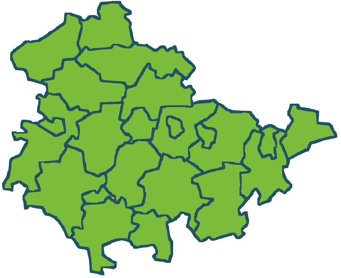 Kreisverbände Thüringen